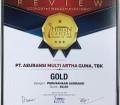 Perusahaan kembali meraih penghargaan dari Majalah Economic Review dalam acara Indonesia Human Capital Award (IHCA) IV – 2018 , yaitu Peringkat  Gold : Kategori Perusahaan Asuransi