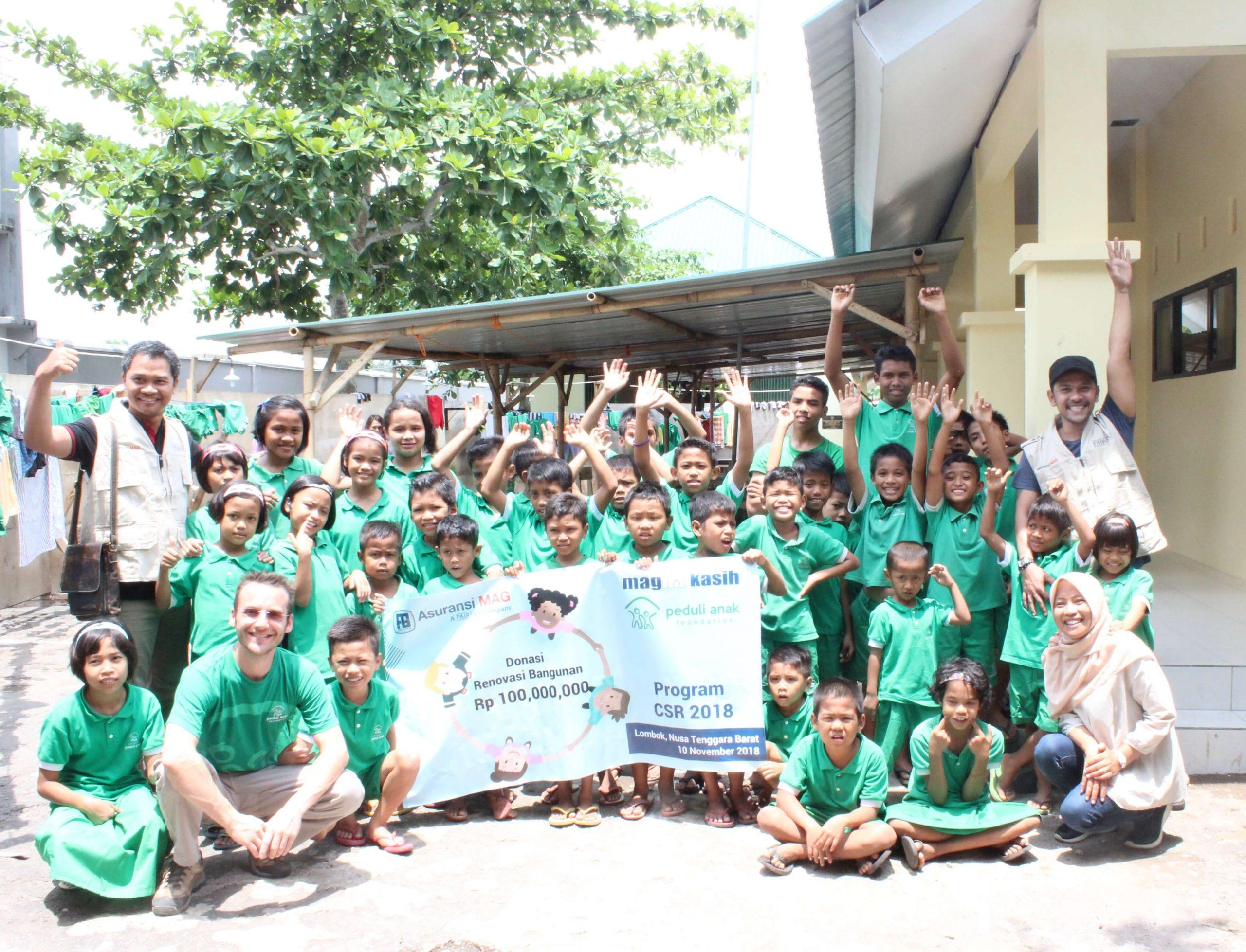 Magna Kasih Peduli Korban Gempa Bumi dan Tsunami