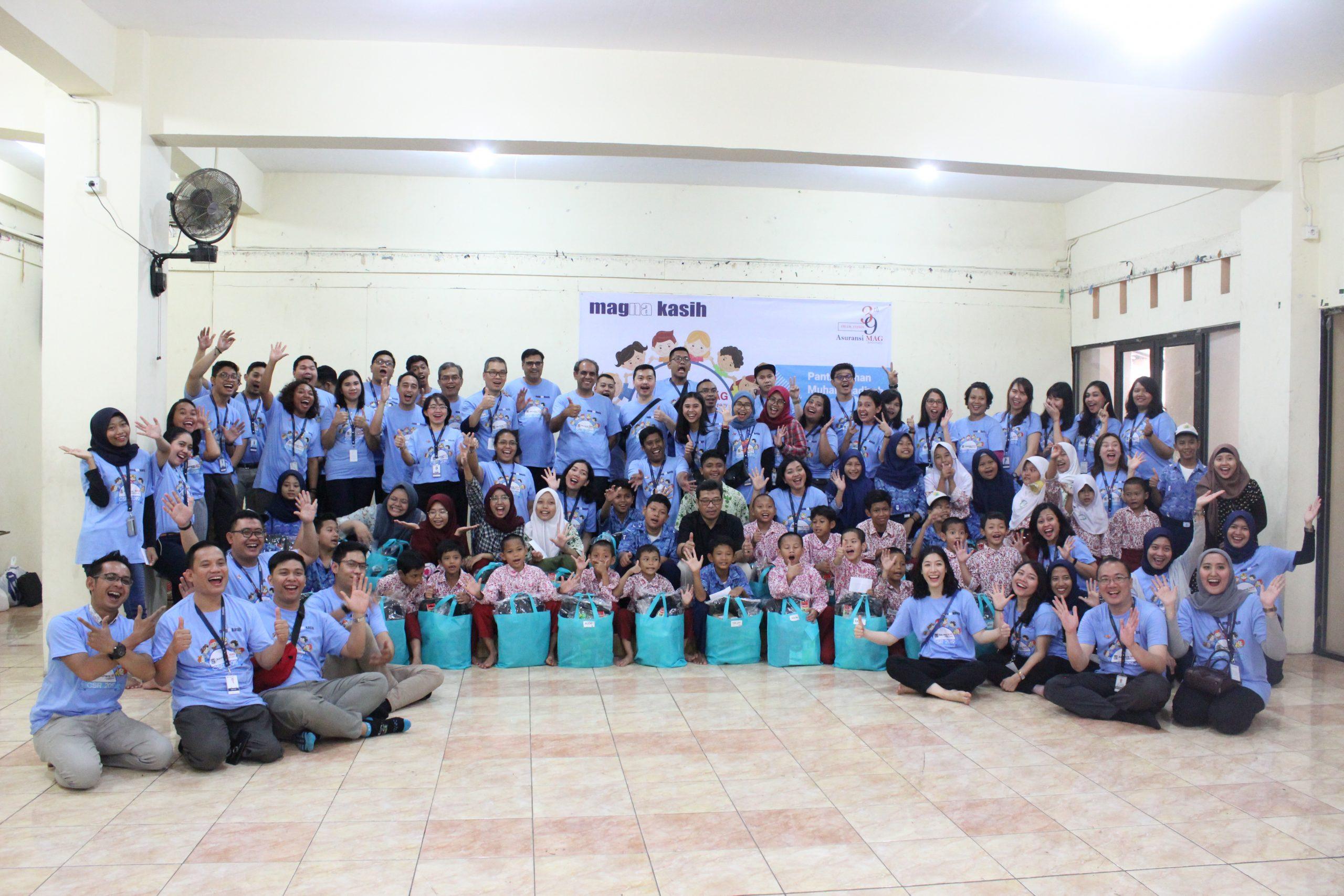 Magna Kasih Peduli Panti Asuhan Muhammadiyah Jakarta (14 November 2019)