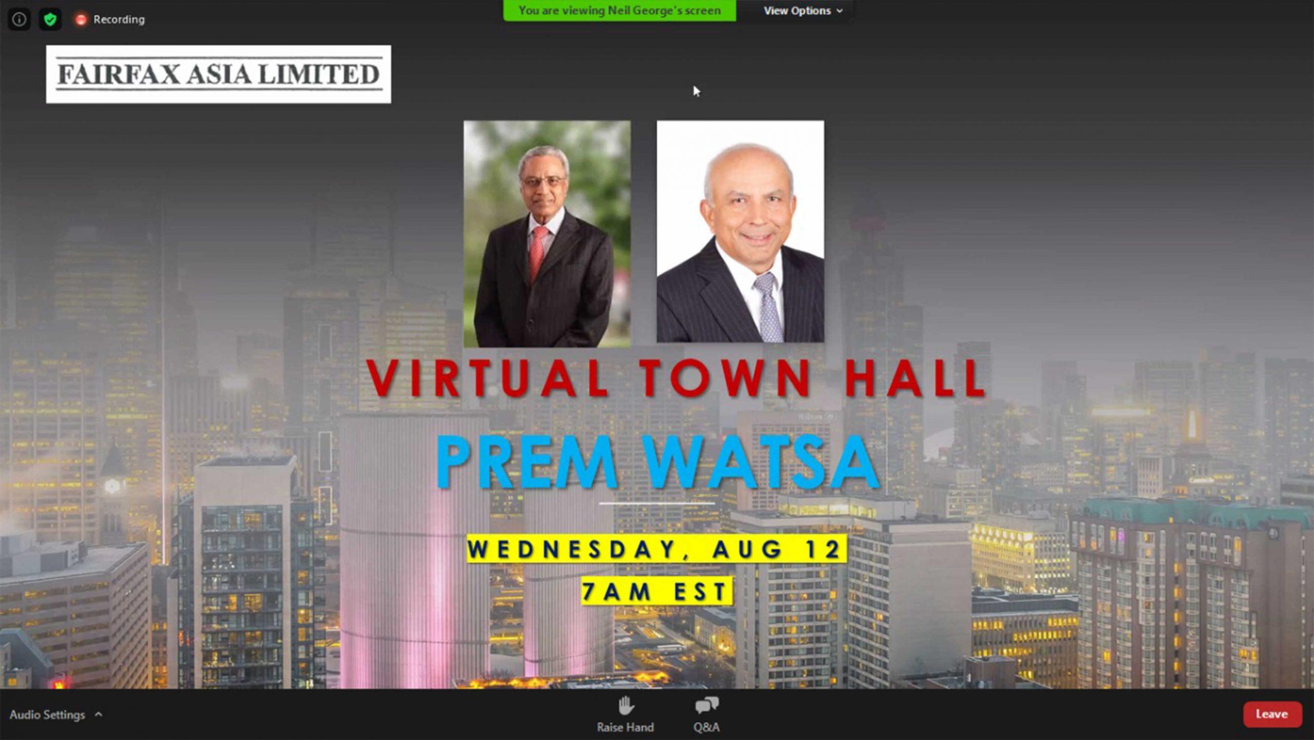 fairfax asia virtual town